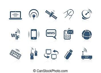 fili, rete, icone