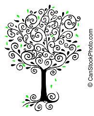 filigrana, árbol