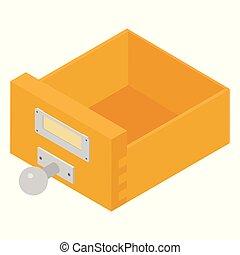 Filing cabinet drawer