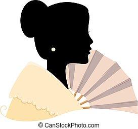 Filipina Silhouette