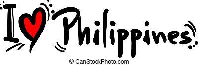 filipinas, amor