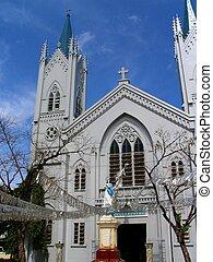 filipino, catedral