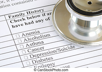 Fill out the medical questionnaire - Fill out the family...