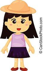 fille, illustrateur