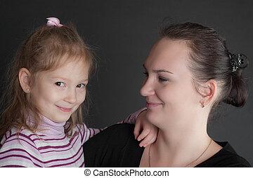 fille, mère