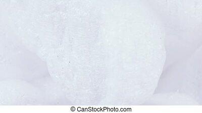 Filler foam bulk - Set of white filler foam in bulk