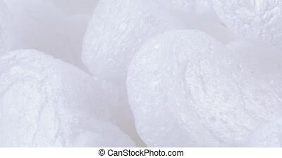 Filler foam bulk - Set of white filler foam in bulk