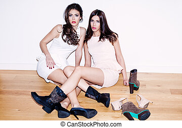filles, chaussures