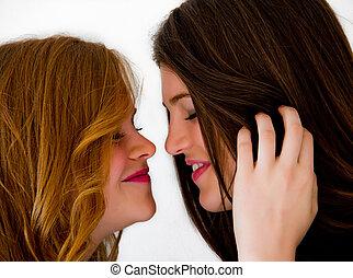 filles, deux