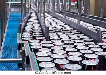 Filling of beverage cans