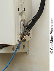 filling refrigerant to air conditioner