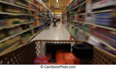Filling Shopping Cart