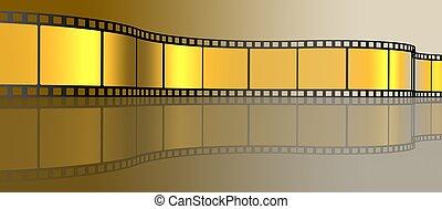 3d illustration of Film Strip