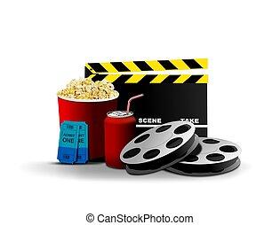 film, a, zábava
