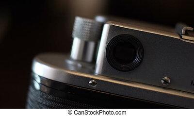 film appareil-photo, grand plan, vendange