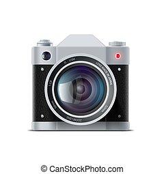 film appareil-photo, icône