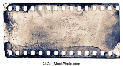 film background - grunge filmstrip sample, may use as design...