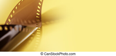 Film background image with copy space.