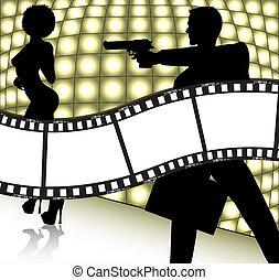 film, bakgrund