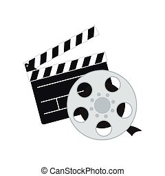 film, bardeau, conception, cinéma
