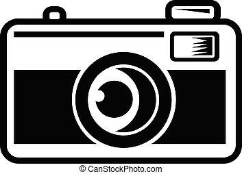 film, bianco, vendemmia, nero, macchina fotografica, 35mm