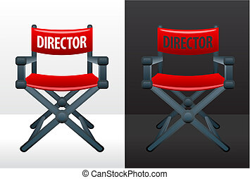 film, chaise, director\'s
