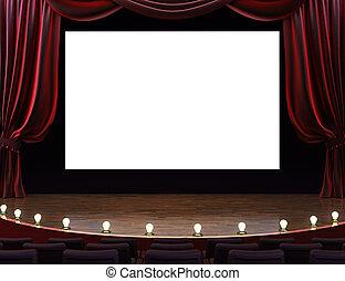 film, cinéma, théâtre