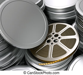 Film Cinema - Concept of Industry cinematographic. Your text...