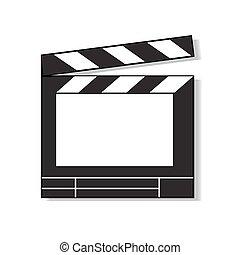 Film Clapboard.