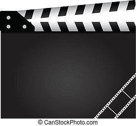 film, clapper