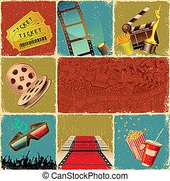 film, collage