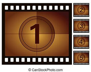 film, conto alla rovescia