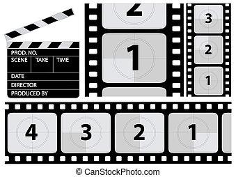 film countdown - vector film countdown