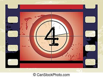 film countdown (vector)