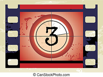 film countdown (vector)