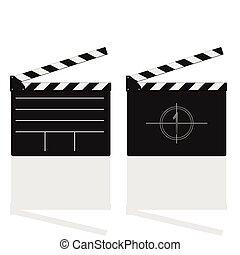 film damper vector illustration