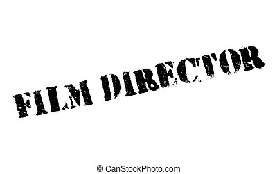 Film Director rubber stamp