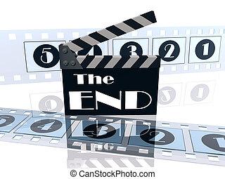 Film End Slate