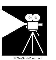 film, fliming, macchina fotografica