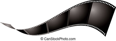 film float - Illustrated piece of film that could be used as...