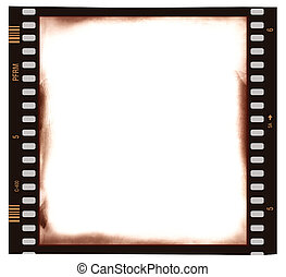 Film frame background - Film strip emulsion as background
