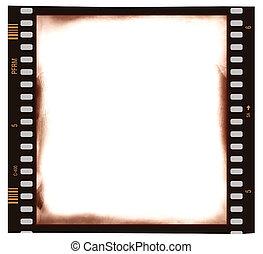 Film frame background - Film strip emulsion as background