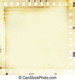 Film frame - Film negatives frame, copy space