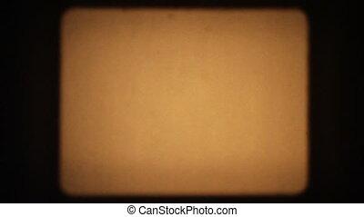 Film Frame Flickers