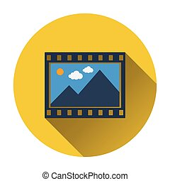 Film frame icon