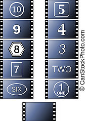 Film Frames - Celluloid illustration