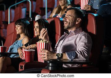film, groupe, théâtre, gens