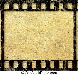 film, hintergrund, grunge