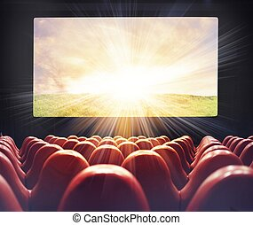 film, hos, den, bio