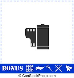 Film icon flat